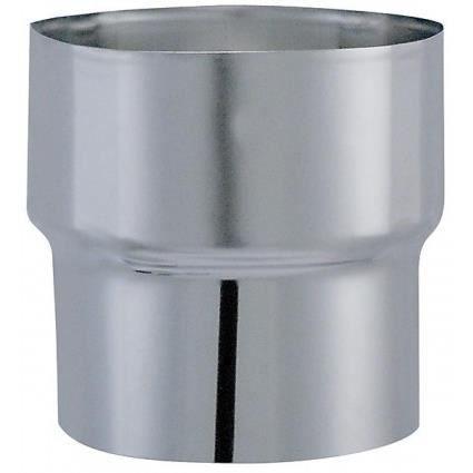 Conduit de fumée - Réduction diamètre 153mm x 125mm - ISOTIP JONCOUX : 034325