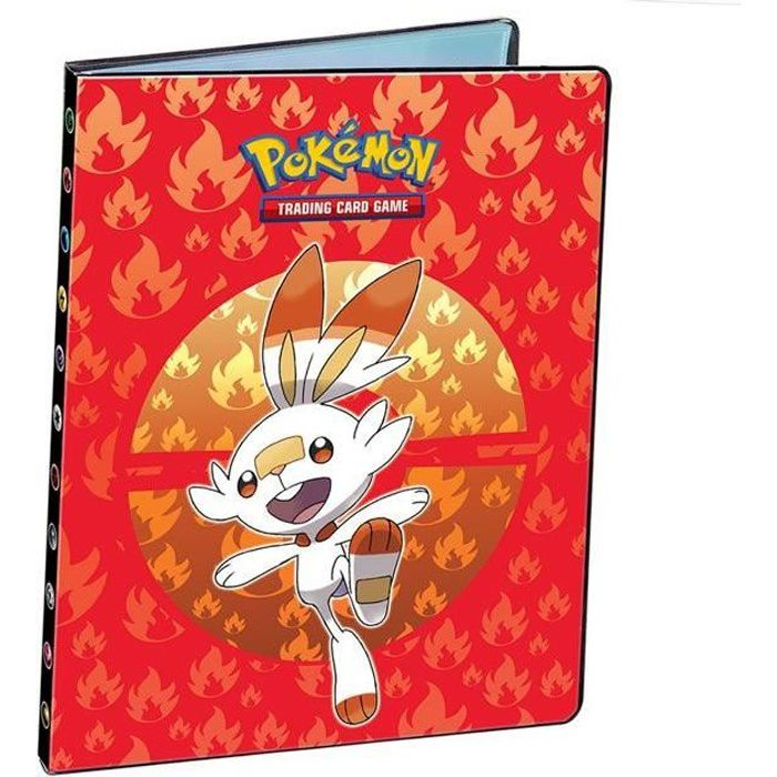 Portfolio Album Cahier Range Carte Pokemon Epee Et Bouclier Format A4 9 Pochettes Jusqu A 180 Cartes Flambino Achat Vente Carte A Collectionner Cdiscount
