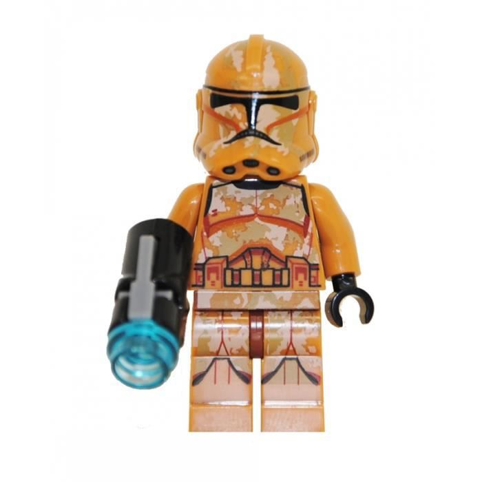 Mini figurine compatible lego star wars clone - Personnage star wars lego ...