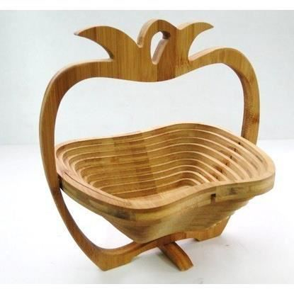corbeille a fruit en bois ustensiles de cuisine. Black Bedroom Furniture Sets. Home Design Ideas