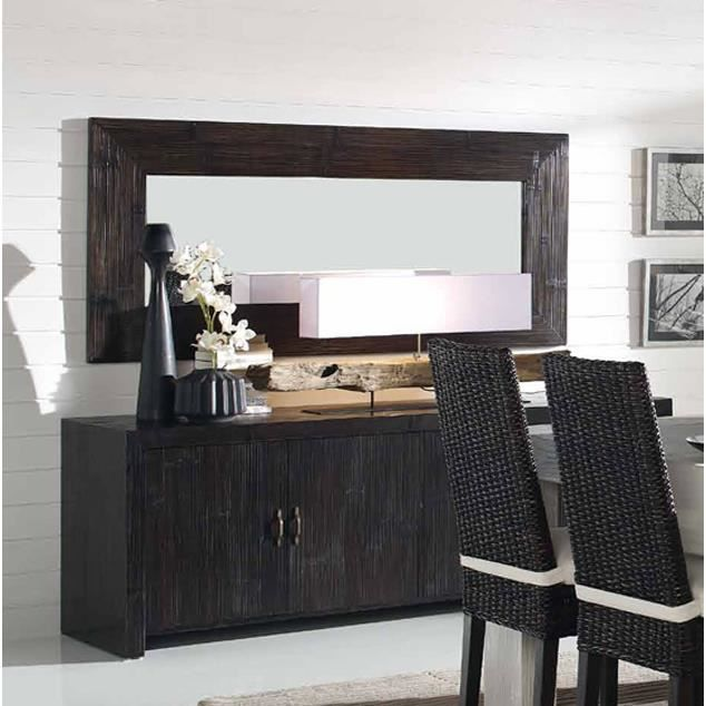 meubles buffet en bambou mod le afrique 4 portes. Black Bedroom Furniture Sets. Home Design Ideas