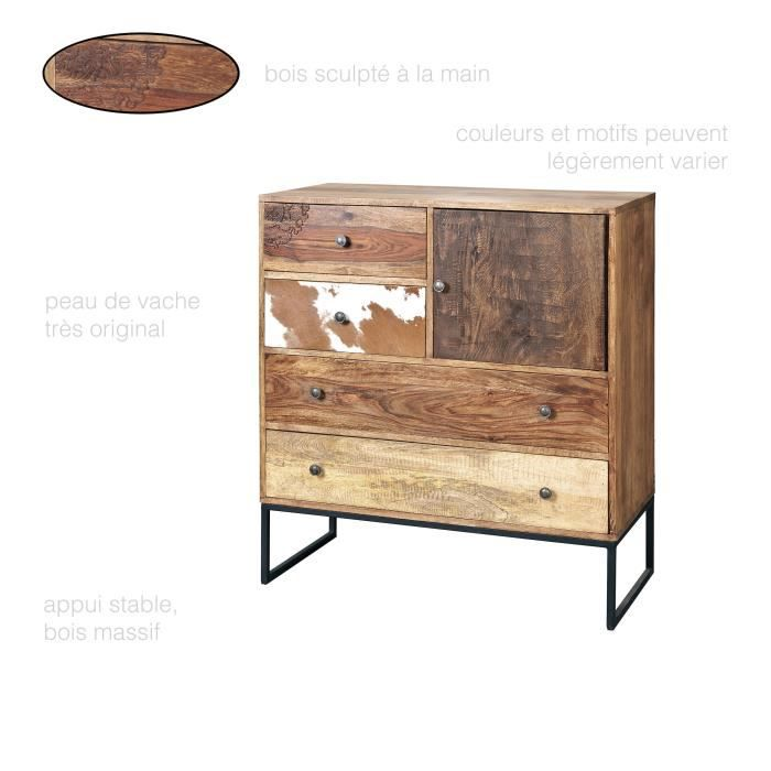 commode vintage achat vente commode vintage pas cher cdiscount. Black Bedroom Furniture Sets. Home Design Ideas