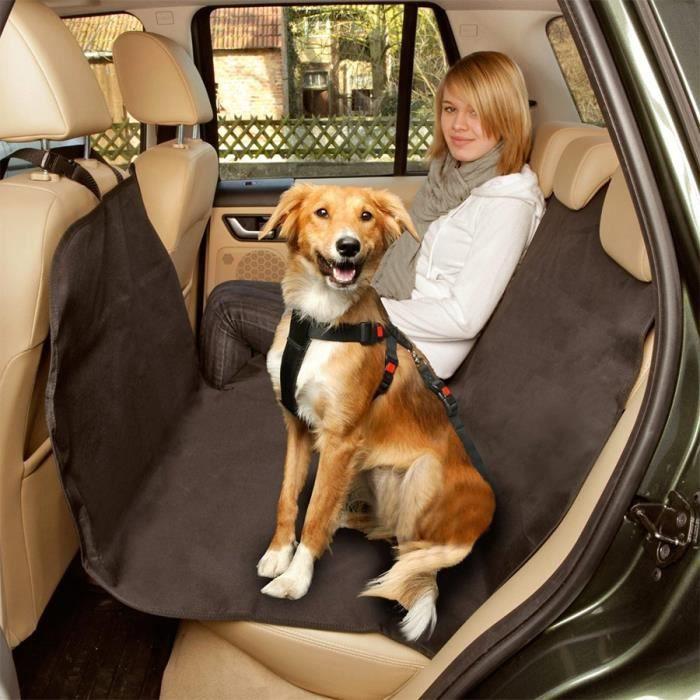 Couverture de protection chien pour voiture