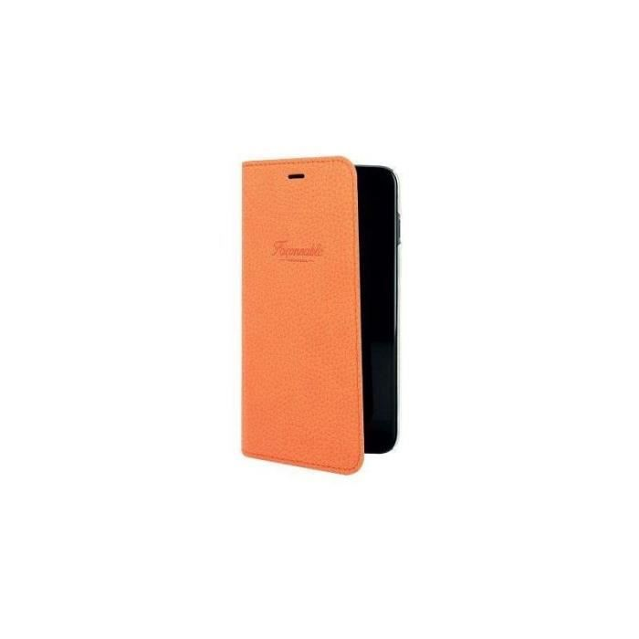 cc8d0fc3ae11b7 FACONNABLE French Riviera Etui de protection pour iPhone 6 et 7 - Orange