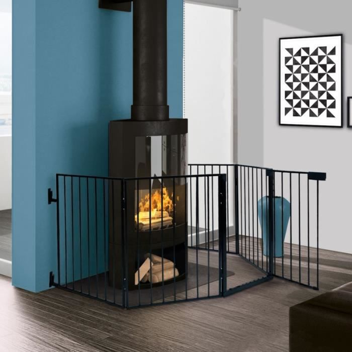 barriere de securite pare feu cheminee achat vente pas cher. Black Bedroom Furniture Sets. Home Design Ideas
