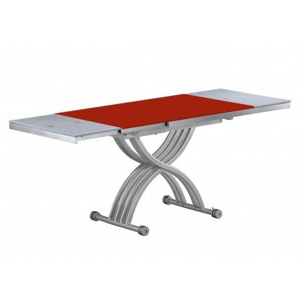 Table basse form relevable extensible plateau achat - Table basse relevable occasion ...