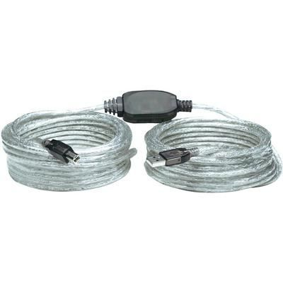 CÂBLE INFORMATIQUE Câble USB 2.0 MANHATTAN Hi-Speed 11m-Câble et ad