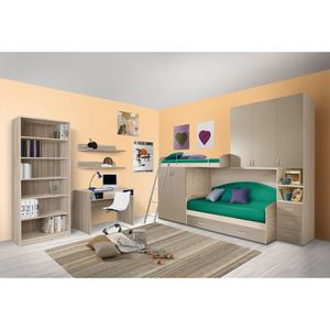 lit superpose combine enfant achat vente pas cher. Black Bedroom Furniture Sets. Home Design Ideas