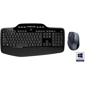 PACK CLAVIER - SOURIS Logitech pack clavier-souris sans fil - MK710