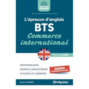 MANUEL BTS L'épreuve d'anglais au BTS Commerce international