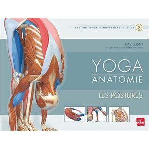 LIVRE SANTÉ FORME Yoga Anatomie