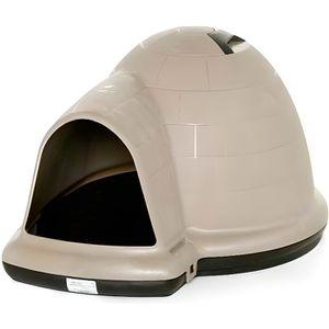 NICHE Niche en plastique pour chiens Indigo