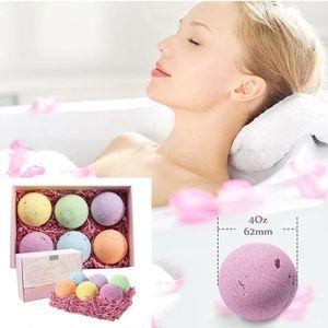 GEL - CRÈME DOUCHE Cosmetics Boules de bain - 6 Pièces Coffret cadeau