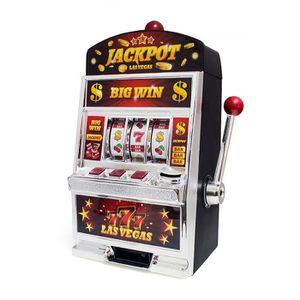 TIRELIRE Balvi Jeu Las Vegas Machine à sous double fonction
