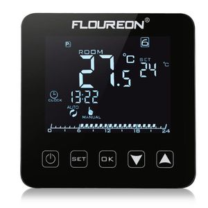 THERMOSTAT D'AMBIANCE Floureon Thermostat connecté affichage LCD HY08WE