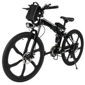 VTT ANCHEER Vélo électrique de montagne 26