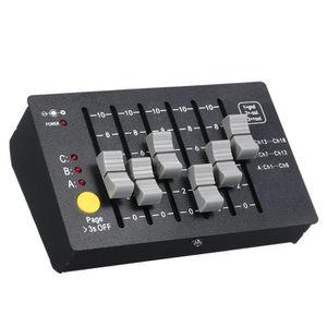 PIÈCE LUMINAIRE AC100-240V 0.5W Mini DMX-18 Contrôleur de Scène DM