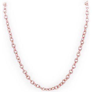 CHAINE DE CHEVILLE Chaîne pour collier Doré or rose 750/00 18K carats