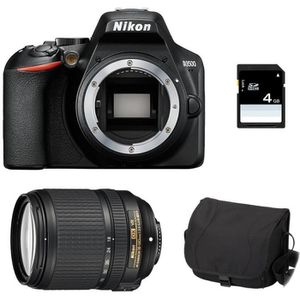APPAREIL PHOTO RÉFLEX NIKON D3500 + AF-S DX 18-140mm 3.5-5.6G ED VR GARA