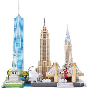 PUZZLE REVELL Puzzle 3D City Line New York City 00142