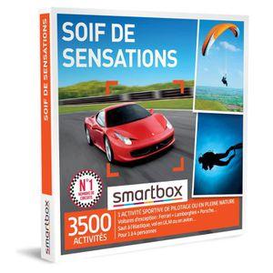 COFFRET SPORT - LOISIRS Coffret Cadeau - Soif de sensations - Smartbox