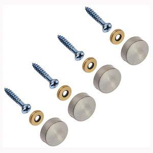 M1.2 x 1.2mm Nickel à l/'Hexagone écrous fixation Ton argent 200PCS