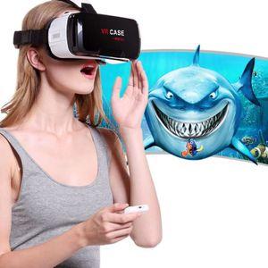 CASQUE RÉALITÉ VIRTUELLE Casque VR pour iPhone, Samsung, Huawei, Xiaomi, 4,