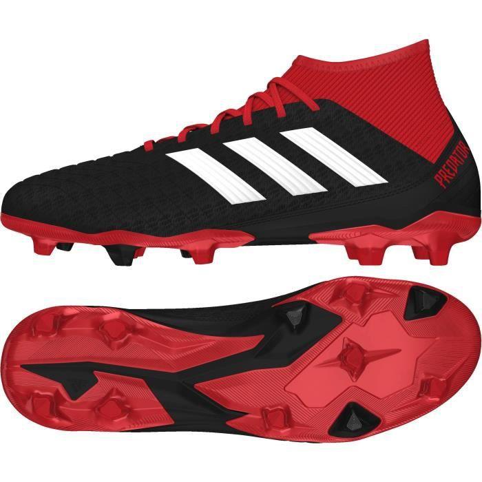 ADIDAS Chaussures de football Predator 18.3 FG II - Homme - Noir