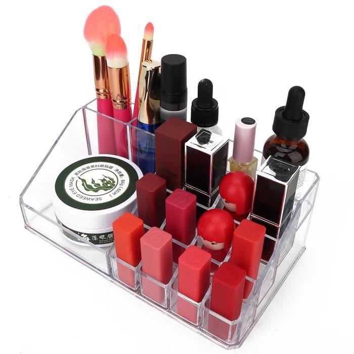 Boîte De Rangement Acrylique Cosmétique Bijoux Maquillage Clou Art Outil Dispaly Rack (Rack De Stockage)-XIS