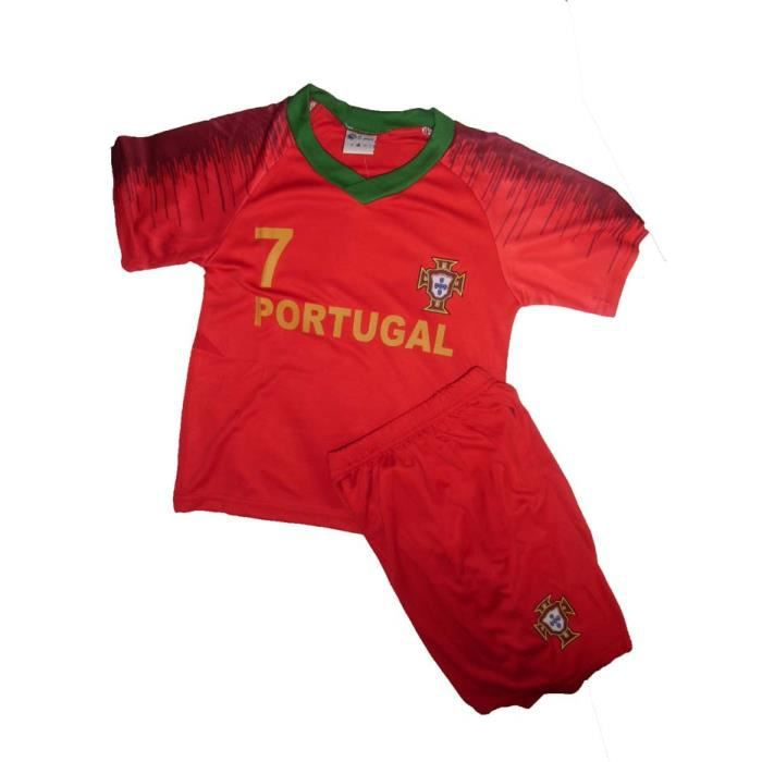 MAILLOT DE FOOT + SHORT PORTUGAL 1 AN