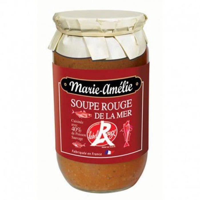 Soupe de poisson Label Rouge, Bocal 780 gr