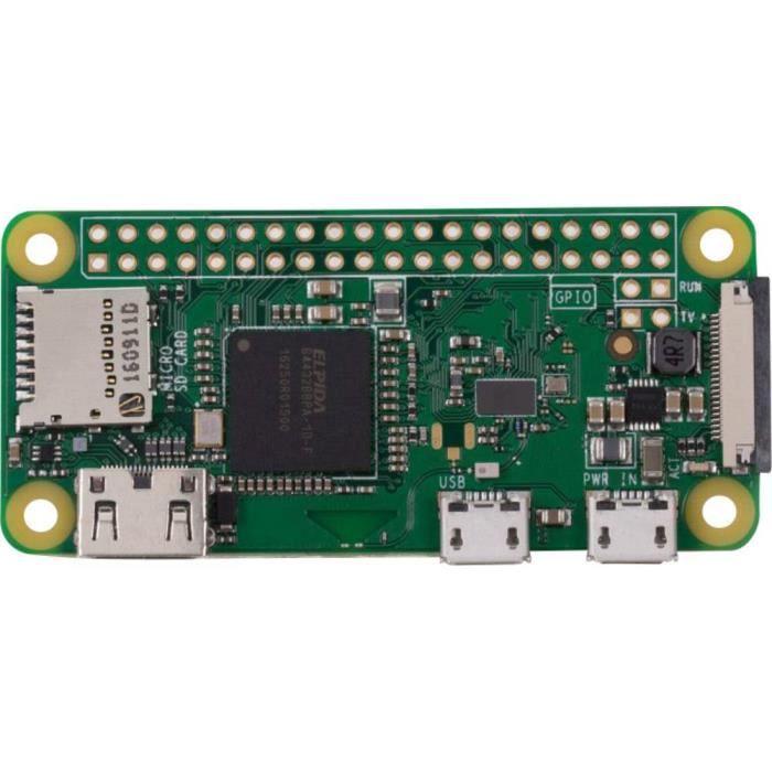 Raspberry Pi Rpi Zero W o. Gpio 512 Mo sans système d'exploitation 1 pc(s)