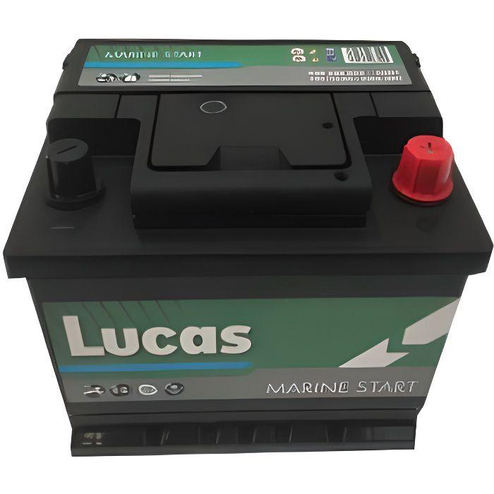 Batterie de démarrage Loisirs/Camping-cars Lucas Marine Starter LB1 LM01 12V 50Ah / 440A