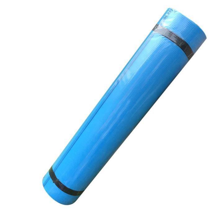 Tapis de sol, Tapis de sport, Tapis de gymnastique, Tapis de yoga en Mousse Bleu 173 cm x 60 cm x 0.4 cm