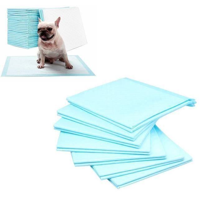 Ecent Tapis éducateurs couche absorbant pour chien chiot pour apprentissage de la propreté (Taille: XL, 60 x 90cm) Ve95780