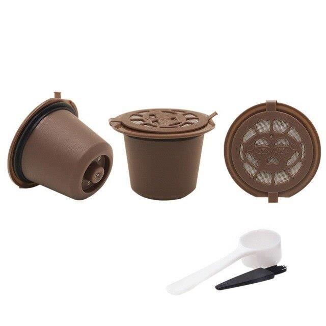 Dolce Gusto Capsules à café Capsule 3 pièces, génération rechargeable, Dripper de café réutilisable, paniers à thé, Dol SN13647