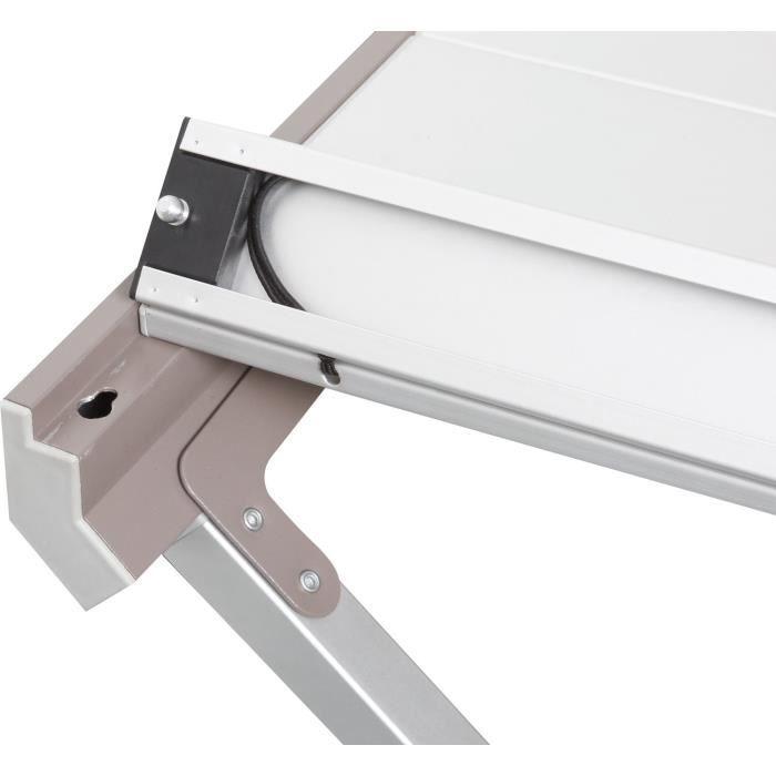 BRUNNER Table pliante Titanium Axia - 4 personnes