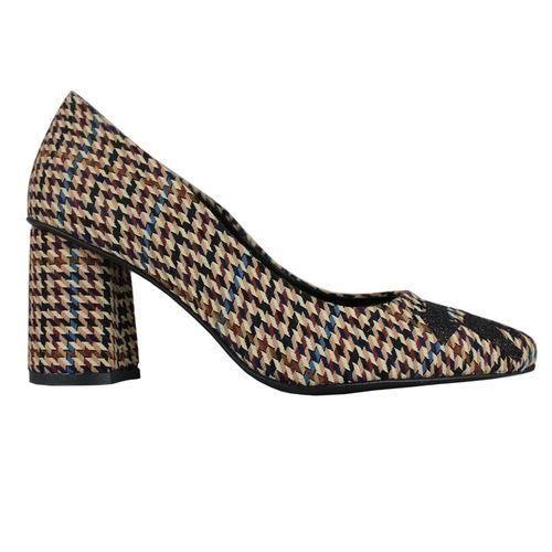 Sandale - nu-pieds Stiletto school brown