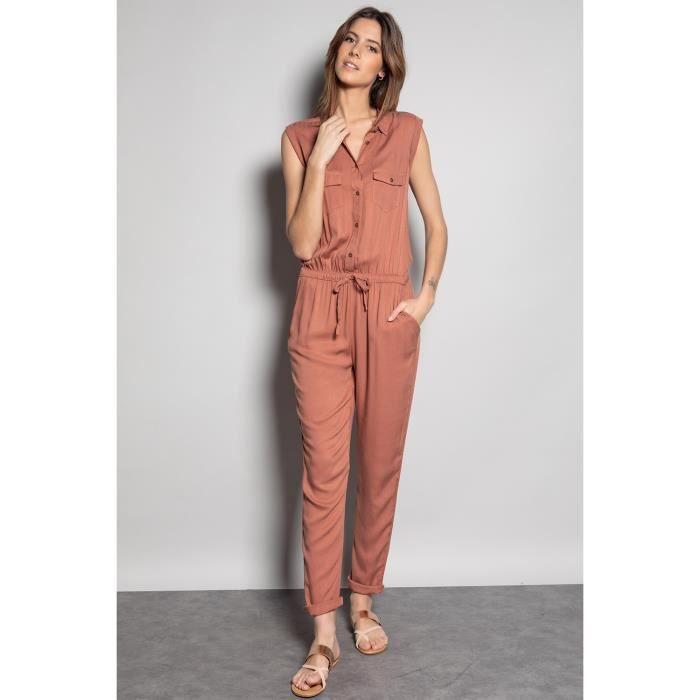 DEELUXE Combinaison à col chemise SAVINA Blush