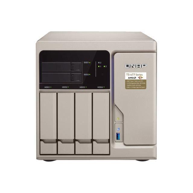 QNAP TS-677 Serveur NAS 6 Baies SATA 6Gb-s RAID 0, 1, 5, 6, 10, JBOD, disque de réserve 5, 6 disques de secours, disque de…