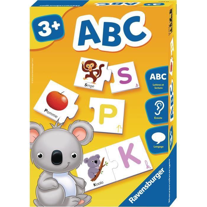 RAVENSBURGER Jeu éducatif ABC - 3 ans et +