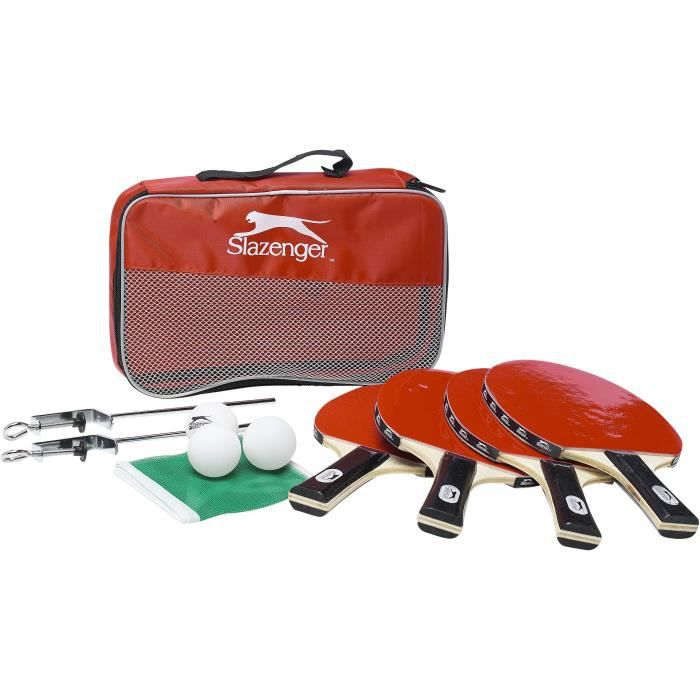 SLAZENGER Kit de tennis de table - 10pc