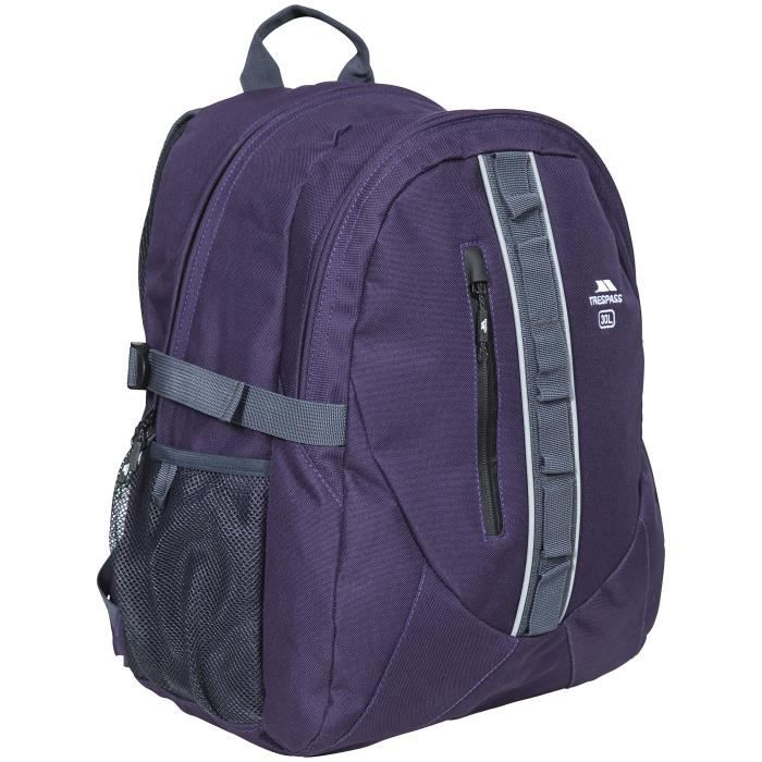Trespass Deptron Sac à Dos Mixte Adulte, Violet Baies Sauvages, Taille Unique
