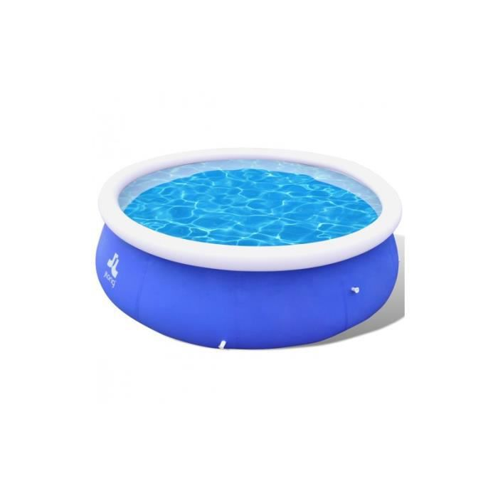 Piscine ronde gonflable 300 x 76 cm achat vente for Piscine gonflable ronde