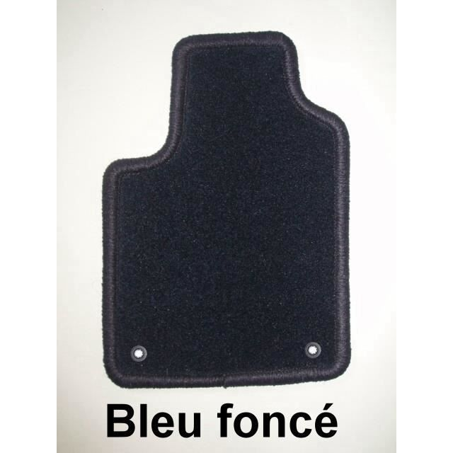 peugeot 207cc 01 07 4 tapis en moquette bleu c achat vente tapis de sol peugeot 207cc 01. Black Bedroom Furniture Sets. Home Design Ideas