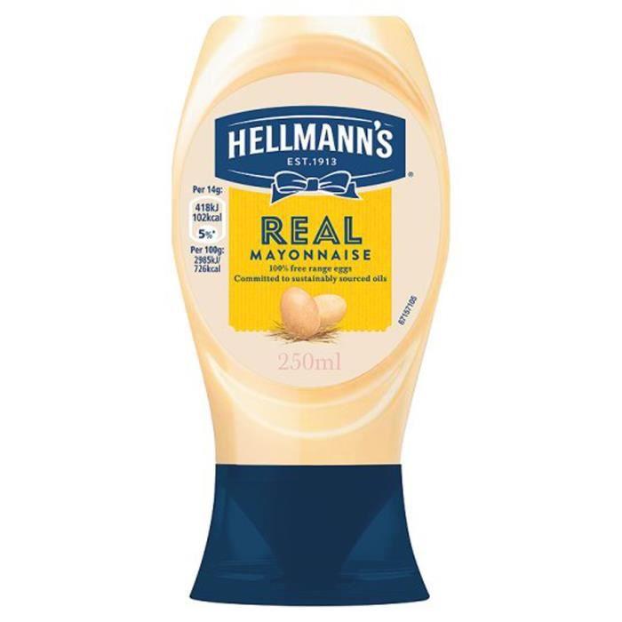 MAYONNAISE HELLMANN'S Mayonnaise Squeeze - 250 ml