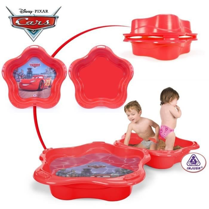 Bac sable piscine coquille cars - Coquille bac a sable ...