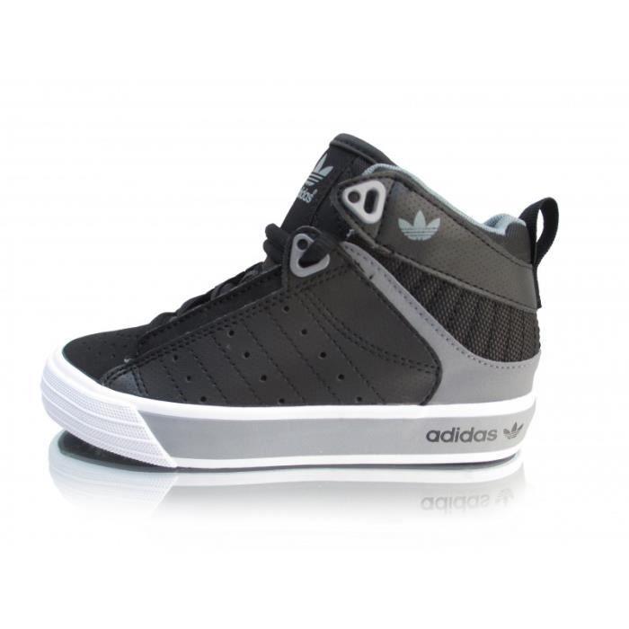 Chaussure montante enfant Adidas Freemont Mid Noir Noir/Gris ...