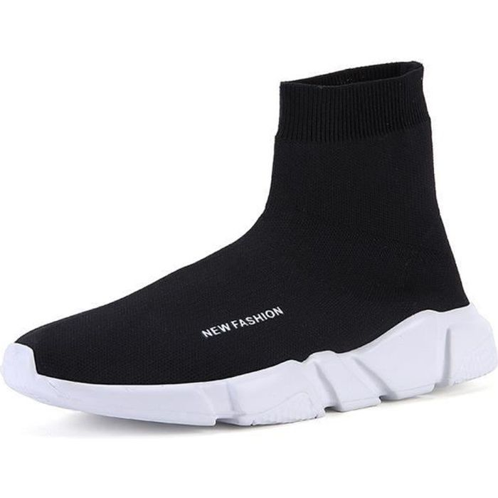 Chaussure chaussette homme