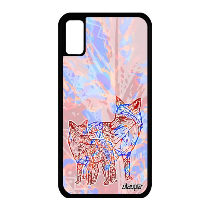 coque silicone iphone 8 renard